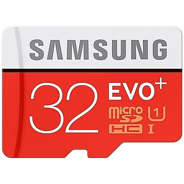 Samsung SD Card 32GB Class10 SDHC SDXC U1 Memory Card MicroSD TF 80MB/S With Computer Adapter