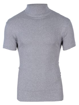 1-150 Grey Turtle Neck Short Sleeve T. Shirt