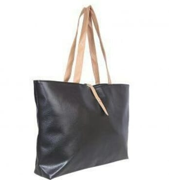 Simple Tote Vogue Bag - Black