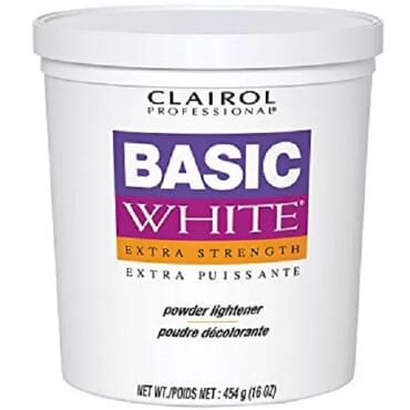 Clairol Basic White Extra Strength Powder Lightener Bleach