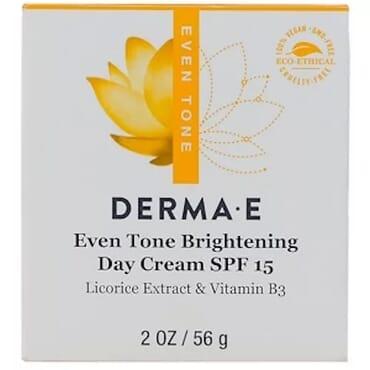 Even Tone Brightening Day Cream SPF 15 Licorice Extract