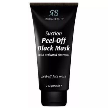 Radha Beauty Suction Peel-off Black Mask with Activated Charcoal
