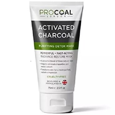 Activated Charcoal Purifying Detox Mask