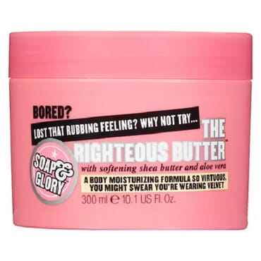 Soap & Glory The Righteous Body Butter With Softening Shea Butter And Aloe Vera