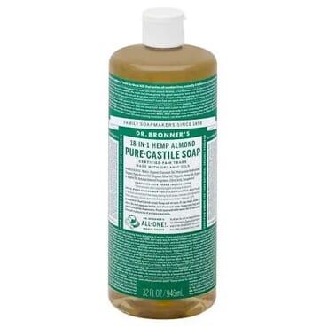 Dr Bronner's 18-in-1 Hemp Almond Pure Castile Soap