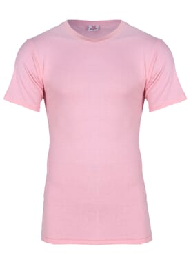 Fashion Lite Pink Round Neck T-Shirt