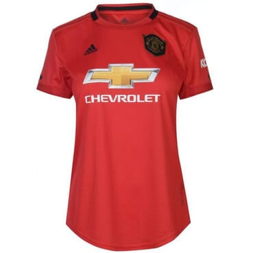LADIES MANCHESTER-UNITED HOME JERSEY