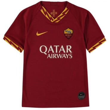 KIDS AS-ROMA HOME JERSEY