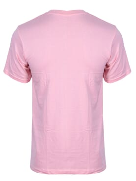 kanin Fashion Lite Pink Round Neck T-Shirt