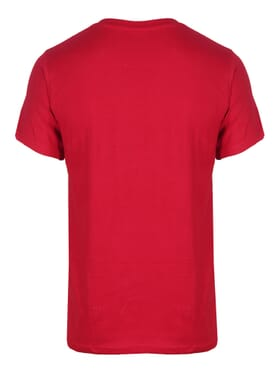 kanin Fashion Red M Round Neck T-Shirt
