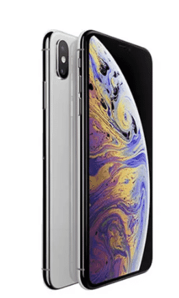 Apple iPhone XS Max - 64GB - 1 Year Warranty - Dual Sim - Nano Sim & E-Sim - Silver