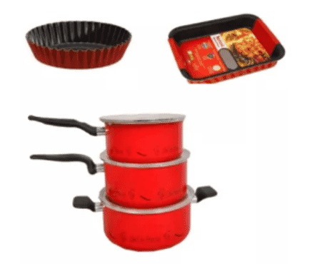 Tefal 3 Sets Of Just Chef De France-22cm,20cm,18cm