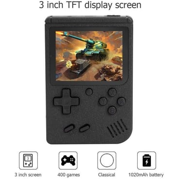 400 IN 1 Game Box Console Handheld GAME PAD