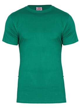 kanin Fashion Green Round Neck T-Shirt