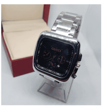 Gucci Chronograph Stainless Wrist Watch