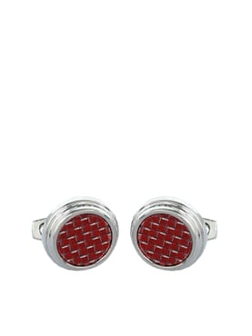 Red Carpet Stainless Steel Cuff-links