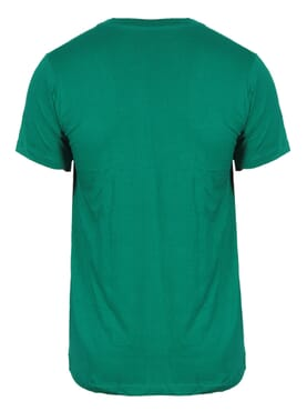 Fashion Green Round Neck T-Shirt