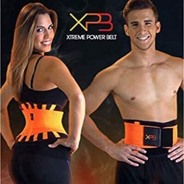 Xtreme Power Belt Body Shaper, Extreme Waist Trainer Hot Slimming Belt