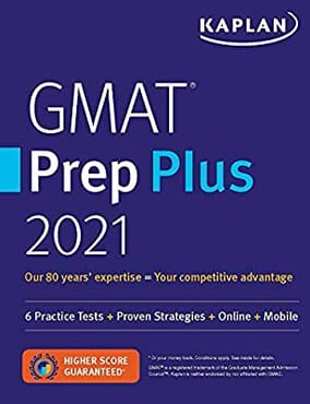 GMAT prep plus 2021-Hardcopy