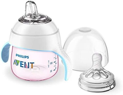 Philips AVENT My Natural Trainer Bottle - Pink