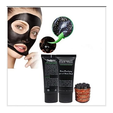 Universal BINGJU Bamboo Charcoal Absorbing BLACK Mask Mud Whitening Anti Ageing Anti Wrinkle Anti Acne Moisturizing Oil Control