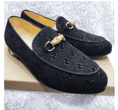 Designed Horsebit Loafer Shoe + A Free Happy Socks