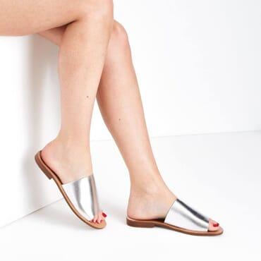 Flat Silver slides