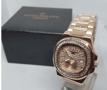 Patek Philippe Gold Stainless Steel Wrist Watch