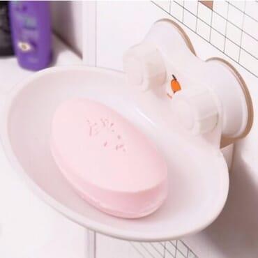 Suction Wall Soap Dish - Single
