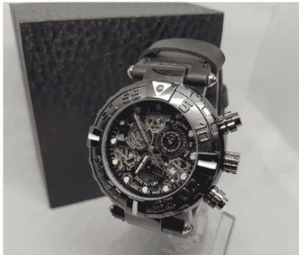 Black Invicta Chronograph Wrist Watch