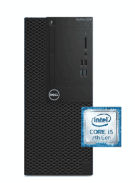 DELL OptiPlex 3050 Intel Core I5 Mini Tower Black Monitor 4 GB RAM 500 GB Hard Drive
