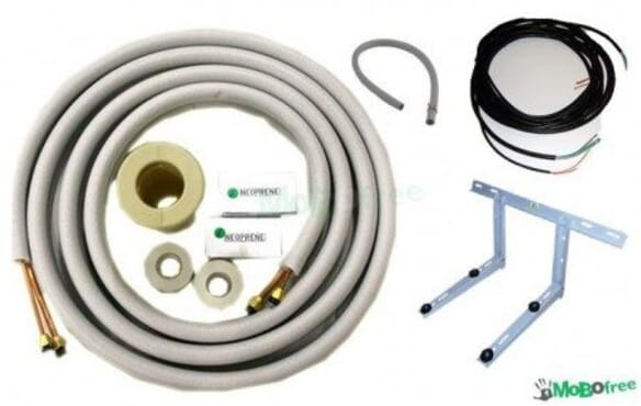 INSTALLATION KITS 5 METER PIPE (2HP)
