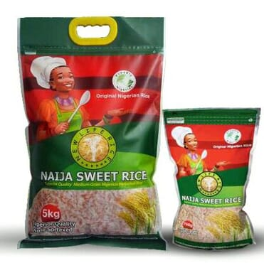 New Life Rice Naijasweetrice Premium Quality Parboiled Rice. 50Kg