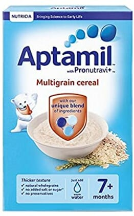 Aptamil Follow On Milk + 7months Cereals - Bundle