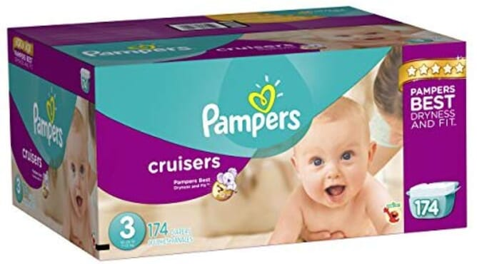 Pampers Cruisers - Size 3 ( 174count)