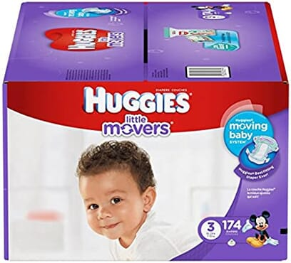 Huggies Little Movers Size 3 174 Count