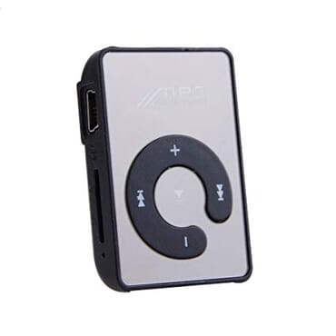 Sunshine Mini Clip Sport USB Micro SD TF Mirror C Button MP3 Player