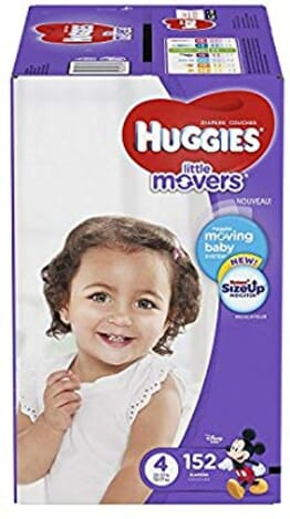 Huggies Little Movers Size 4 152