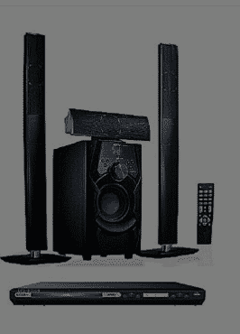 Jiepak JP-C1 Powerful 3.1Bluetooth Home Theatre System + DVD Player