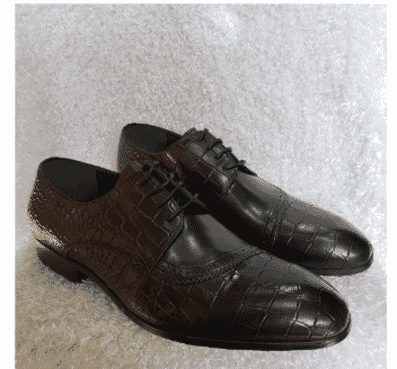 Croc Men's Derby Loafer Shoe + A Free Happy Socks