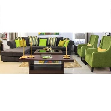 Complemented Sectional Sofa