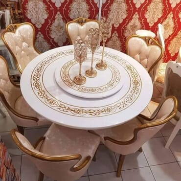 Royal Marble Dining & Conference Set