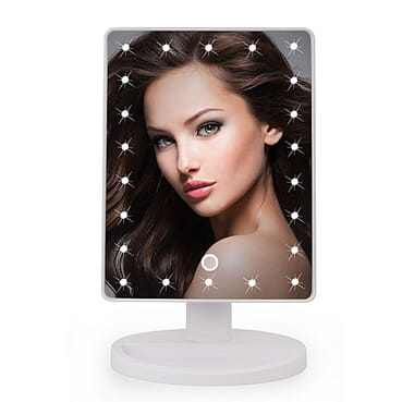 Universal 22 LED Light Touch Screen Makeup Mirror