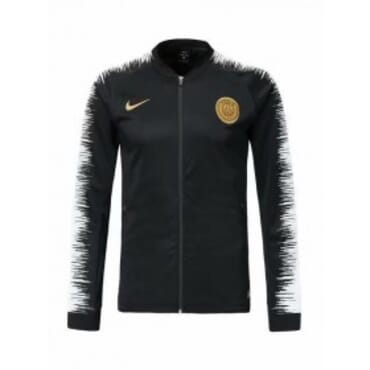 PARIS-SAINT GERMAIN ANTHEM JACKET-BLACK