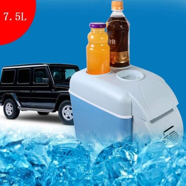 7.5L 12V Portable Car, Travel and Camping Refrigerator Cooler/Warmer