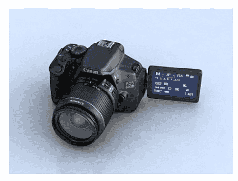 Canon EOS 2000D DSLR Camera With EF-S