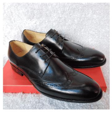 Monk Lace-up Shoe + A Free Happy Socks