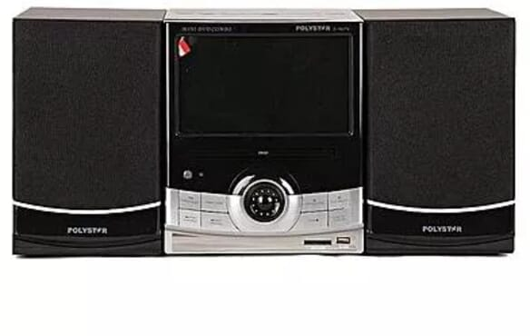 Polystar S760TV Combo DVD Set With 7 Inch Screen