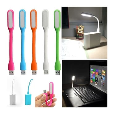6 Pieces Of USB LED Light + 1 Piece Of OTG Cable + 1 Piece Of IRing Phone Holder