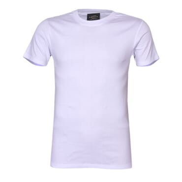 Police X.001 Extra Size Plain White Short Sleeve O-Neck T-Shirt